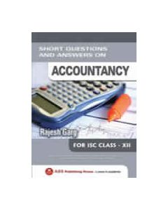 Short Questions and Answers on Accountancy ISC CLASS XII