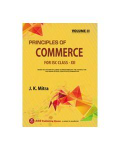 Principles of Commerce (VOL.II) ISC CLASS XII