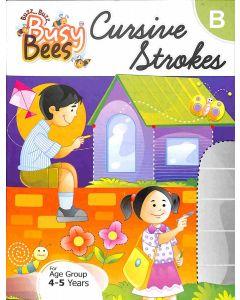 Busy Bees Cursive Strokes B