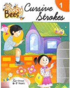 Busy Bees Cursive Strokes 1