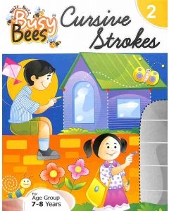 Busy Bees Cursive Strokes 2