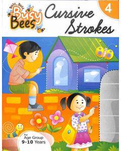 Busy Bees Cursive Strokes 4
