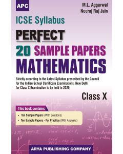 ICSE Perfect20 Sample Papers Mathematics Class-10