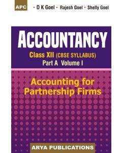 Accountancy Class- 12 (Part-A) Vol-I