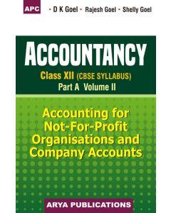 Accountancy Part A- Vol II Class 12
