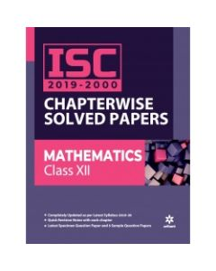 ISCChapterwiseSolved Papers Mathematics Class 12th