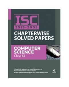 ISC Chapterwise Solved Papers Computer Science Class 12th