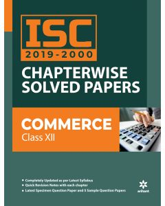 ISC Chapterwise Solved Papers Commerce Class 12th