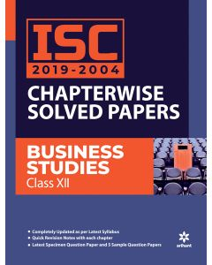 ISC 2019-2004 Chapterwise Solved Papers Business Studies Class 12th