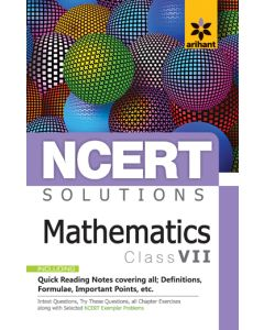 NCERT Solutions Mathematicsfor class 7th