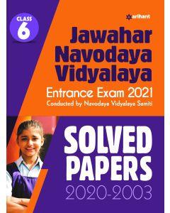 Jawahar Navodaya Vidyalaya Solved Papers 2021 For Class 6