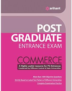 Post Graduate Entrance Examination Commerce