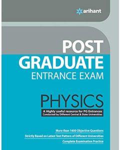 Post Graduate Entrance Examinations Physics