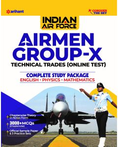 Indian Airforce Airman Group 'X' (Technical Trades) 2020