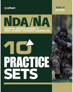 10 Practice Sets NDA/NA Defence Academy & Naval Academy 2020