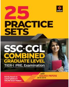 SSC CGL 25 Practice Sets Pre Exam Tier I 2020