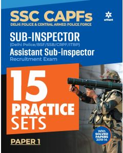 SSC CAPFs Sub Inspector and Assistant Sub Inspector Practice Sets 2020