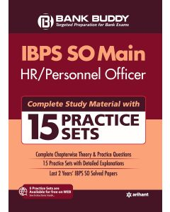 15 Practice Sets IBPS SO Main HR Personnel Officer 2019