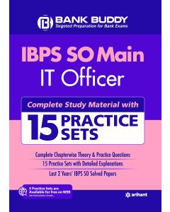 IBPS SO Main IT Officer Complete Study Material with 15 Practice Sets 2019