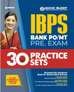 30 Practice Sets IBPS Bank PO/MT Pre Exam 2020