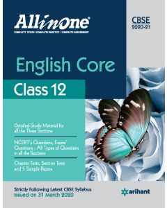 All In One English Core CBSE Class 12 2020-21