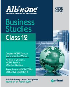 All In One Business Studies CBSE Class 12 2020-21