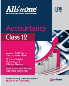 All In One Accountancy CBSE Class 12 2020-21