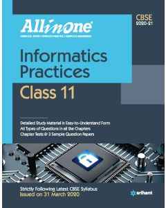 All In One Informatics Practices CBSE Class 11 2020-21