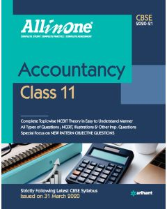 All In One Accountancy CBSE Class 11 2020-21