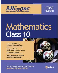 All in One Mathematics CBSE Class 10 2020-21