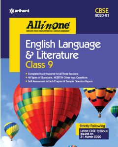 All In One English Language & Literature CBSE Class 9 2020-21