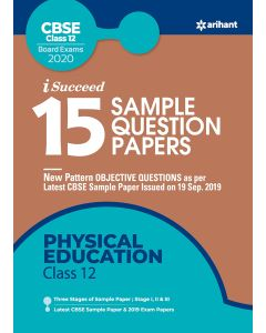 I-Succeed 15 Sample Question Paper - Physical Education Class 12th