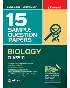 I-Succeed 15 Sample Question Papers CBSE Exams 2020 - Biology Class 11th