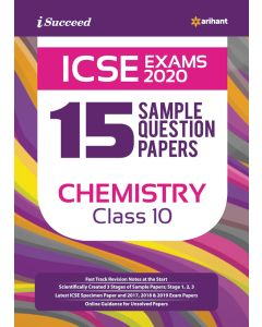 ICSE EXAMS 2020 15 Sample Question Papers ChemistryClass 10th
