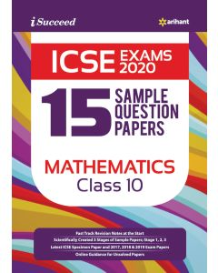 ICSE Exam 2020 15-Sample Question Papers Mathematics Class_10th