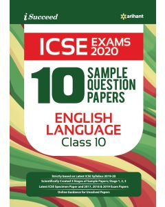 I-Succeed 10 Sample Question Papers ICSE Exams 2020 C Class 10th