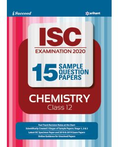 i-succeed ISC Examination 2020 15 Sample Question Papers ChemistryClass 12th