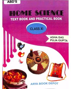 Home Science Textbook And Practical Book Class 11