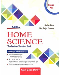 Home Science Textbook And Practical Book Class 12