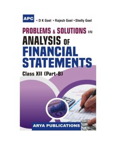 APC Problems & Solutions Analysis of Financial Statement (Part B) Class 12