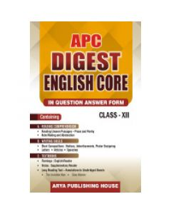 APC Digest English Core Question Answer for Class 12