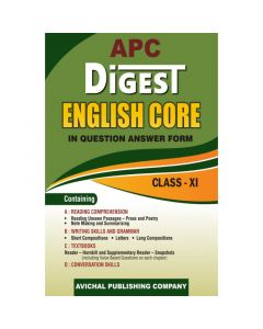 APC Guide Digest English Core Question Answer for Class 11