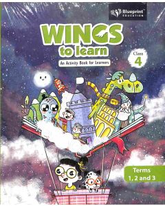 Wings To Learn Class 4 (Terms 1, 2 And 3)