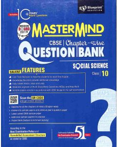Master Mind CBSE Chapter-Wise Question Bank Social Science Class 10