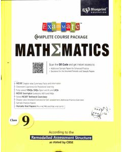 Exam Mate Complete Course Package Mathematics Class 9 (CBSE)
