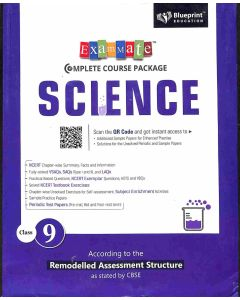 Exam Mate Complete Course Package Science Class 9 (CBSE)