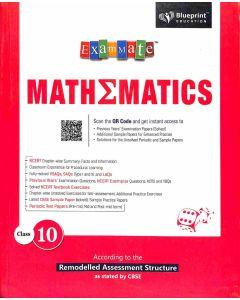 Exam Mate Mathematics Class 10 (CBSE)