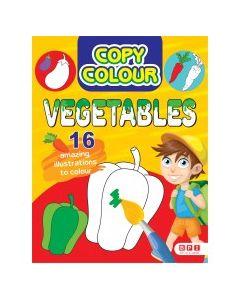 COPY COLOUR VEGETABLES