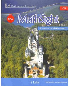 New Math Sight Book 1 ICSE (A Course In Mathematics)