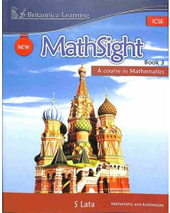 New Math Sight Book 3 ICSE (A Course In Mathematics)